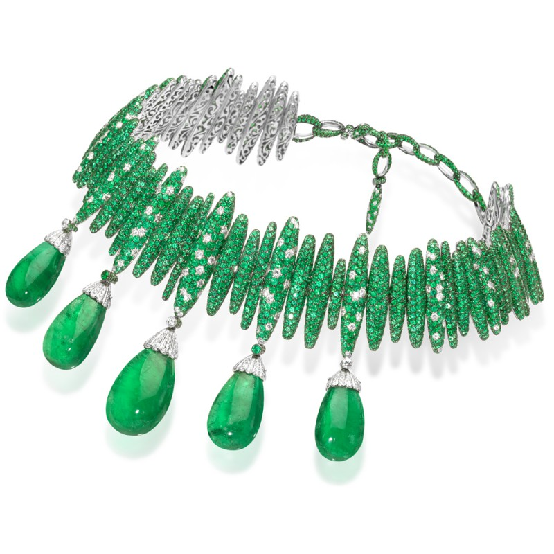 DeGrisogono.EmeraldNecklace